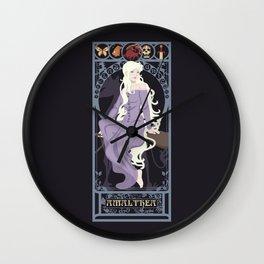 Amalthea Nouveau - The Last Unicorn Wall Clock