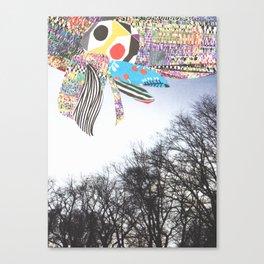 secret sky Canvas Print