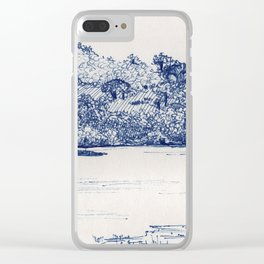 Olifants River, Balule, South Africa Clear iPhone Case