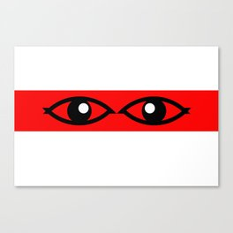 Red Watchers  Canvas Print