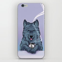 Tea Wolf iPhone Skin