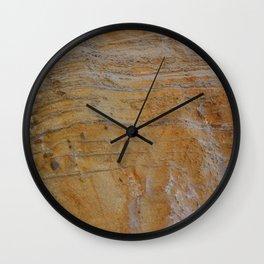 Unconformity Wall Clock