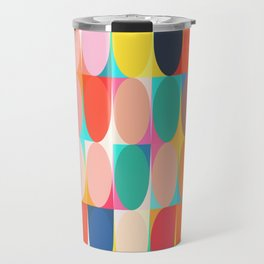Colourful Dots Travel Mug