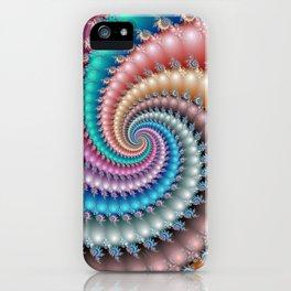 Fractal Mandelbrot Spyral iPhone Case