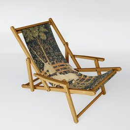 The Unicorn In Captivity Sling Chair