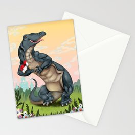 Komodo Dragon Stationery Cards