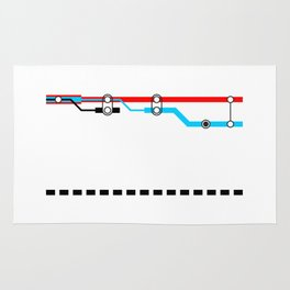 Transportation (Instructions and Code series) Rug