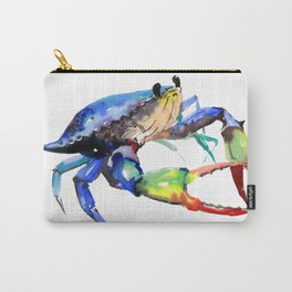 Crab, Sea World Rainbow Colors Beach Carry-All Pouch