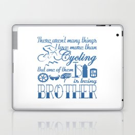 Cycling Brother Laptop & iPad Skin