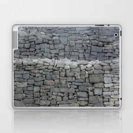 Dry stone wall Laptop & iPad Skin