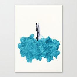 Into the Smoke Canvas Print