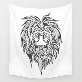 Lion | Abstract Digital Design Wall Tapestry