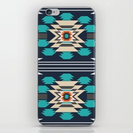 Double ethnic decor iPhone Skin