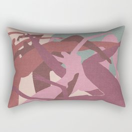 Witches in the Full Moon Rectangular Pillow