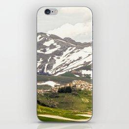 Italian mountain landscape iPhone Skin