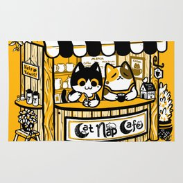 Cat Nap Cafe Rug