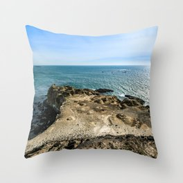 Devils Backbone Throw Pillow