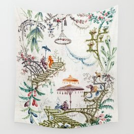 Enchanted Forest Chinoiserie Wall Tapestry