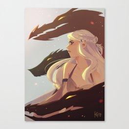 Storm Born Canvas Print