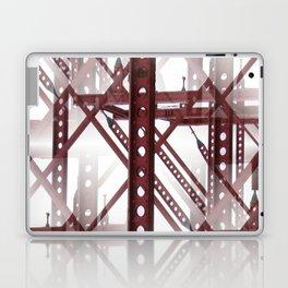 Red Steel Construction Laptop & iPad Skin