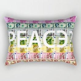 PEACE? Rectangular Pillow