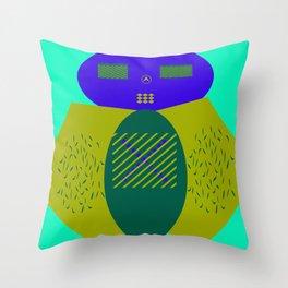Moru Dachi Throw Pillow