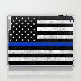 Thin Blue Line Flag 2 Laptop & iPad Skin