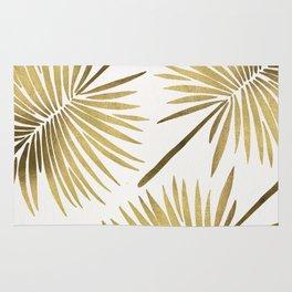 Tropical Fan Palm – Gold Palette Rug
