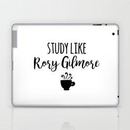 Gilmore Girls - Study like Rory Gilmore Laptop & iPad Skin