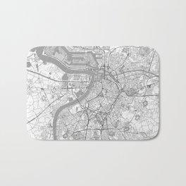 Antwerp Map Line Bath Mat