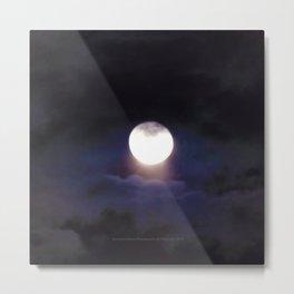 The Moon (Energize Me) - Jeronimo Rubio Photography 2016 Metal Print