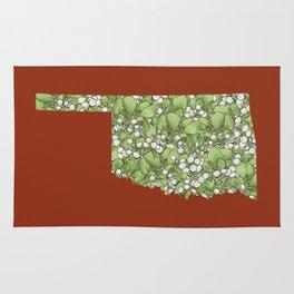 Oklahoma in Flowers Rug