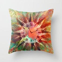 Synchronicity 11:11 Clock Face Time Design Throw Pillow
