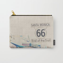 the end of route 66 ... Carry-All Pouch