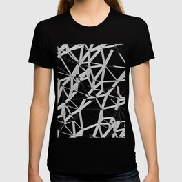3D Futuristic GEO Lines V T-shirt