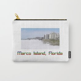 Marco Island, Florida 7 Carry-All Pouch