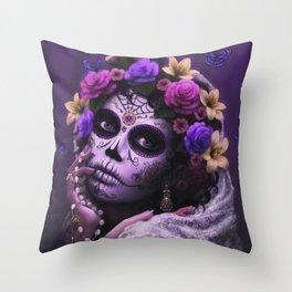Dia De Los Muertos Throw Pillow