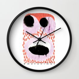 metanimal 2 Wall Clock