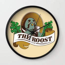 The Roost Wall Clock