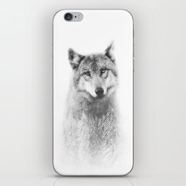 The Wolf and the Forest iPhone Skin