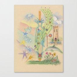 Delightful Experiences Canvas Print