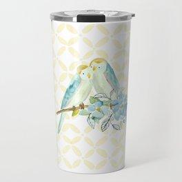 The love birds Travel Mug
