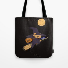 The Best Ber Halloween Witch 2015 Tote Bag