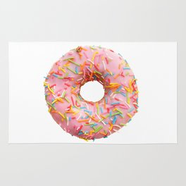 Single pink donut Rug