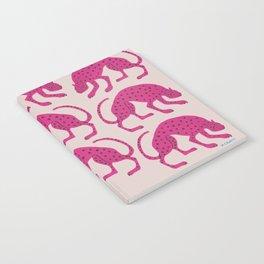 Wild Cats - Pink Notebook