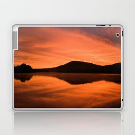 Dawn on Fire: Lac du Saint Sacrement Laptop & iPad Skin