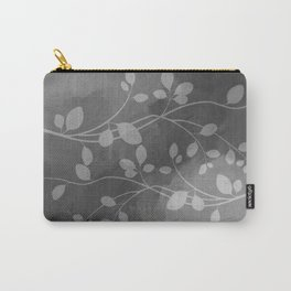 Stems of Gray Carry-All Pouch