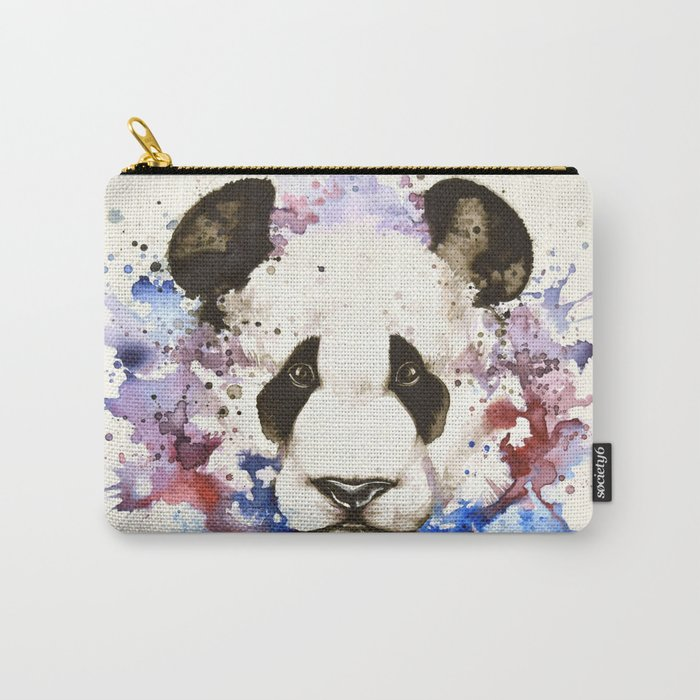 """Into the mirror"" n°3 The panda Carry-All Pouch"