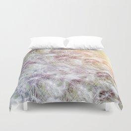 Dandelion Sunrise Duvet Cover