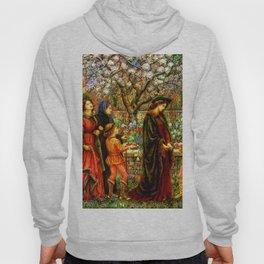 The Enchanted Garden of Messer Ansaldo - Marie Spartali Stillman Hoody